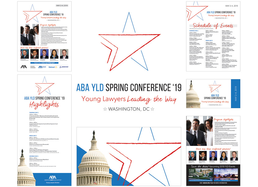 Young Lawyers Division Spring Conference 2019 Brand by American Bar Association