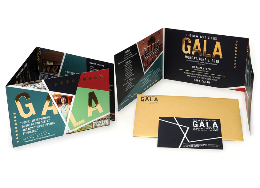2019 Gala Invitation by Integrated Printing & Graphics