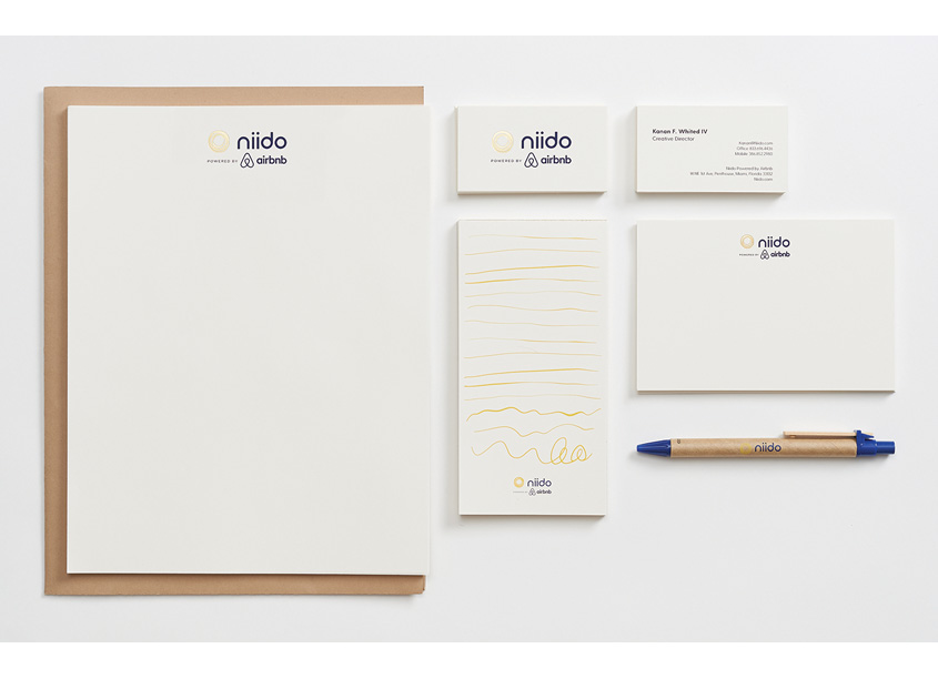 Letterhead and Stationery by Niido Powered by Airbnb