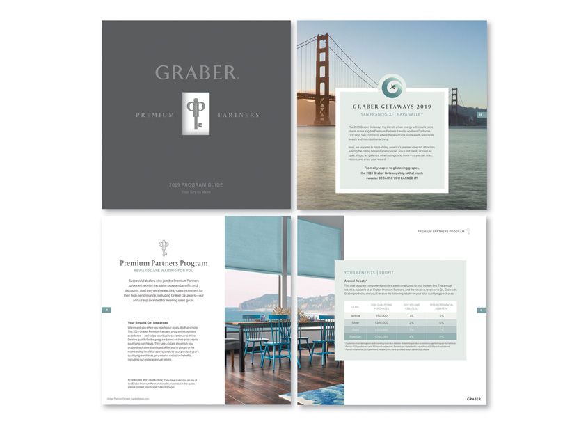 Graber Premium Partner Brochure by Springs Window Fashions - Integrated Marketing