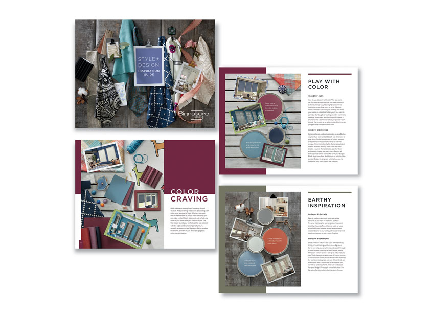 Signature Series Design Guide by Springs Window Fashions - Integrated Marketing