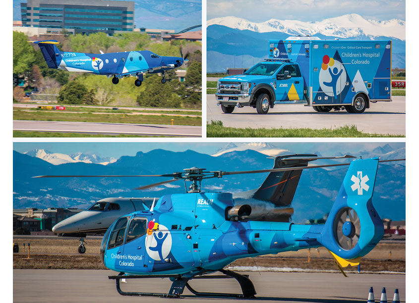 Children's One Emergency Vehicles by Children's Hospital Colorado