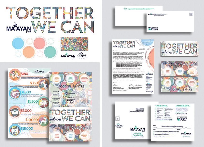 Charles E. Smith Jewish Day School (CESJDS) Ma'ayan 2020 Annual Campaign Brochure and Mailing