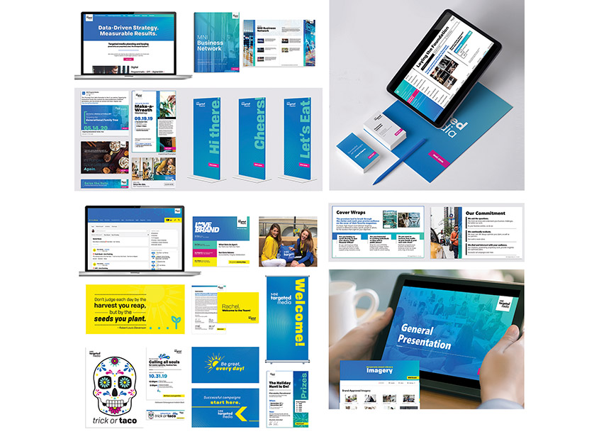 MNI Targeted Media Inc. | Creative Studio Branding and Identity
