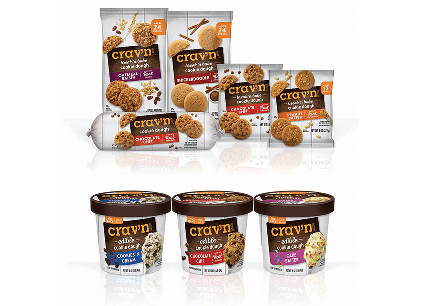 Topco Associates LLC, Creative Services Crav'n Flavor Refrigerated Cookies