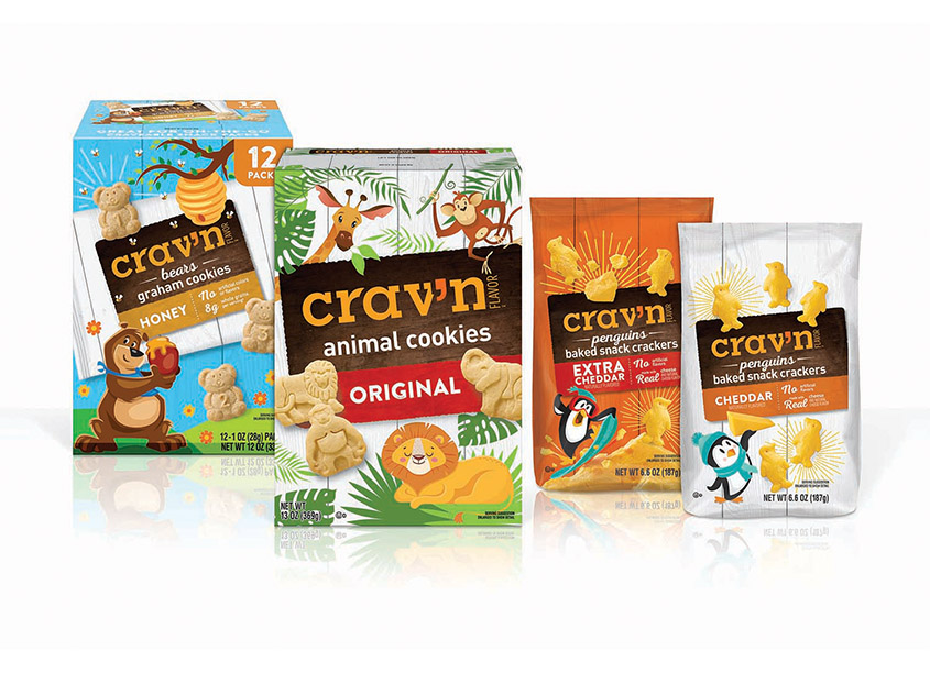 Topco Associates LLC, Creative Services Crav'n Flavor Children's Crackers