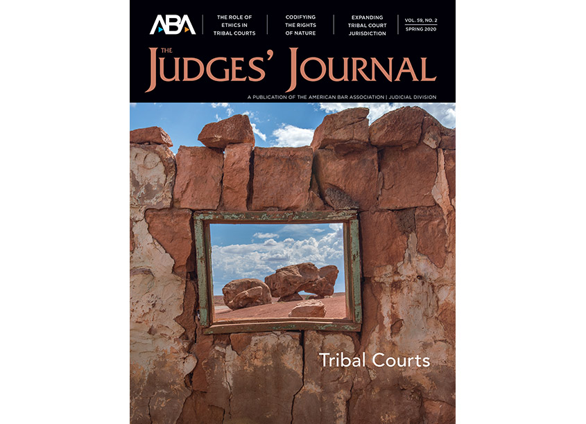 American Bar Association/ABA Creative Group Judges' Journal Spring 2020