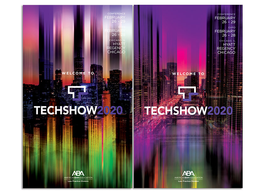 American Bar Association/ABA Creative Group TECHSHOW 2020 Posters