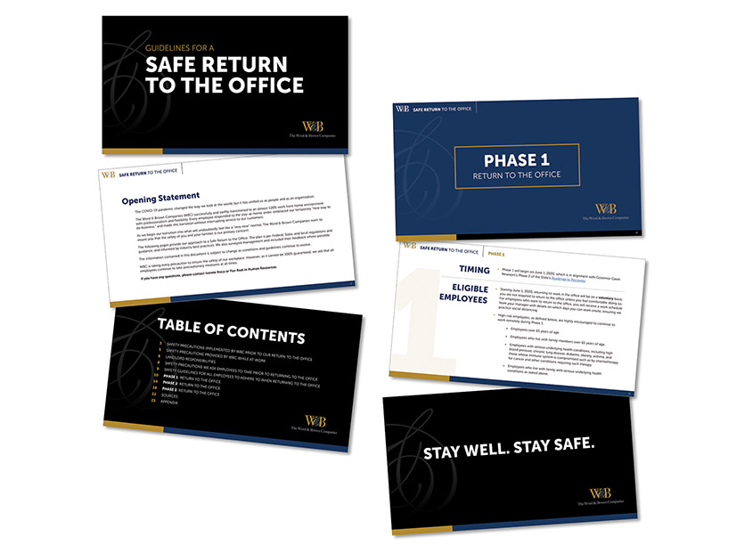 Safe Return to the Office by The Word & Brown Companies