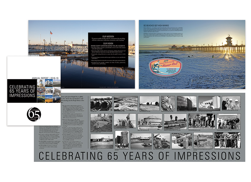 2018-19 Annual Report - Celebrating 65 Years of Impressions by Orange County Sanitation District (OCSD), Public Affairs Department