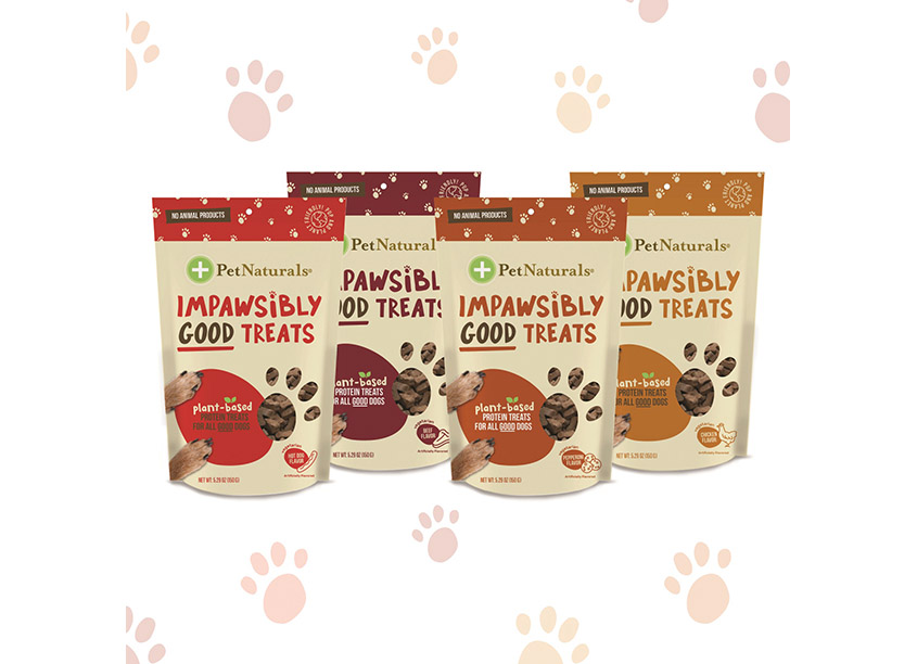 FoodScience Corporation PetNaturals® Impawsibly Good Treats Packaging