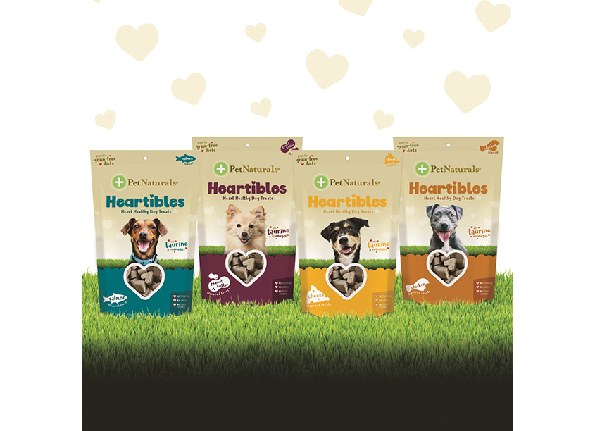 FoodScience Corporation PetNaturals® Heartibles™ Packaging