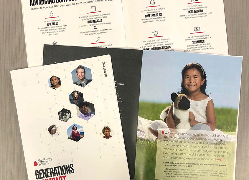 2019 Impact Report by The Leukemia & Lymphoma Society/LLS Creative Services
