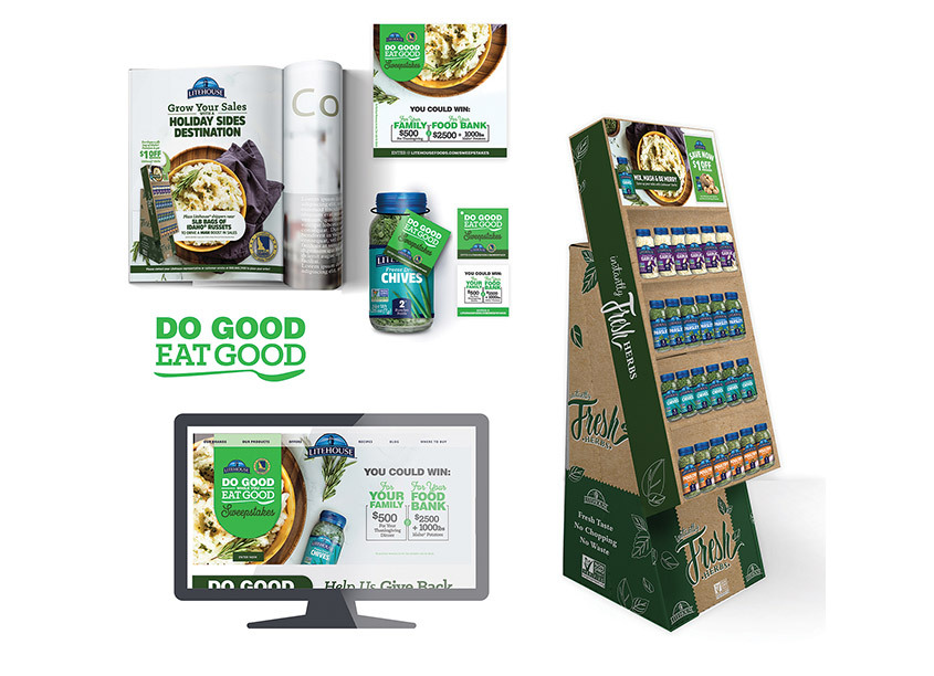 Do Good Eat Good Promotion by Litehouse Design Team