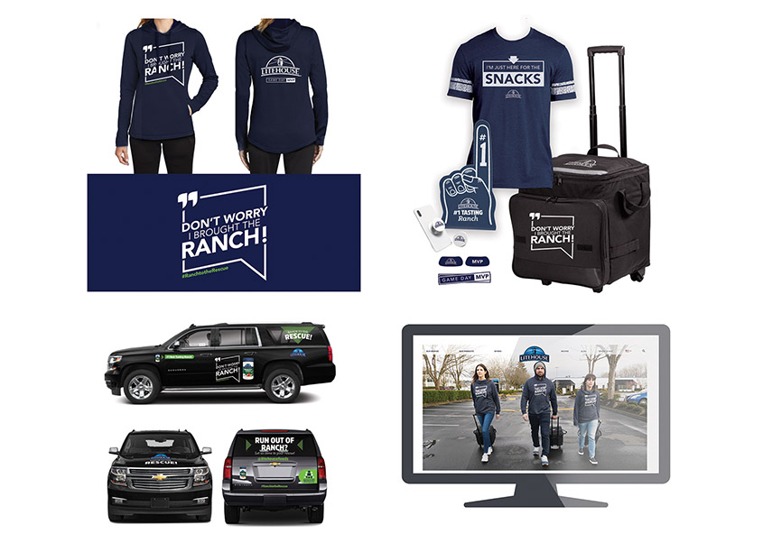 Ranch To The Rescue Promotion by Litehouse Design Team