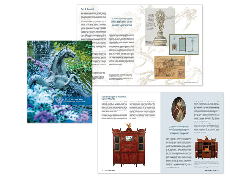 2019 Winterthur Annual Report by Winterthur Museum, Garden & Library