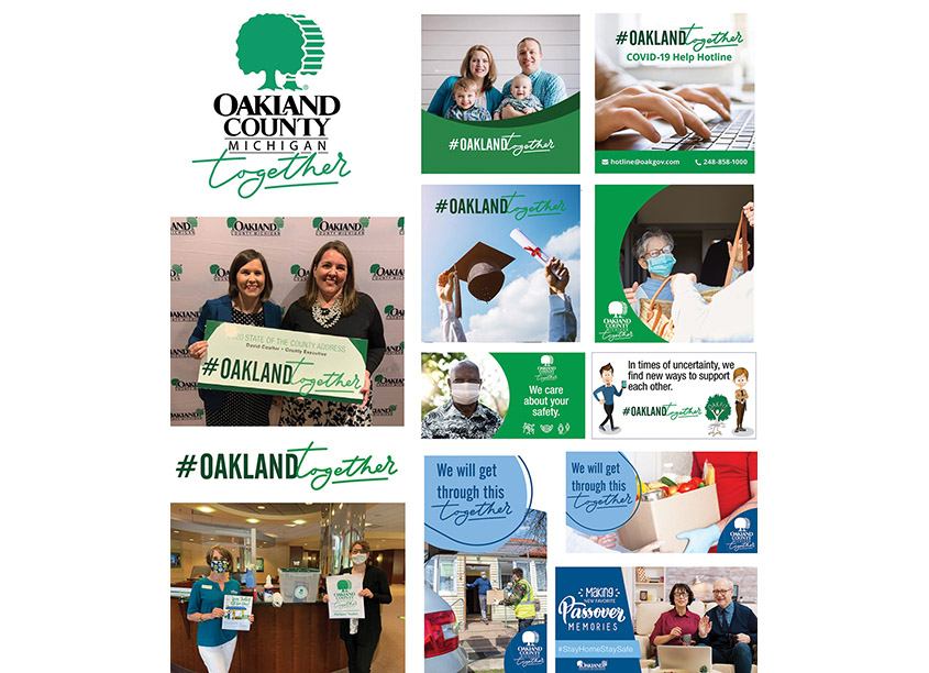 Oakland Together Branding Campaign by Oakland County, Michigan