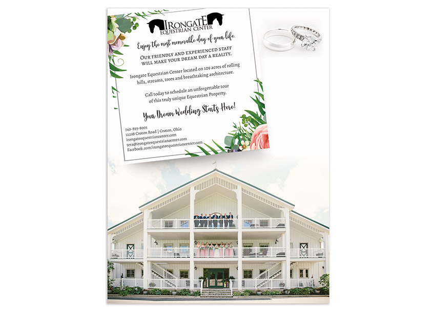 Irongate Equestrian Center Advertisement by Best Version Media
