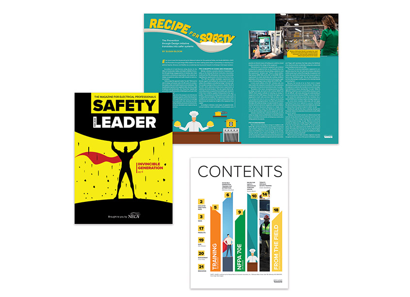 NECA Creative Services Safety Leader, Volume 1 Issue 1