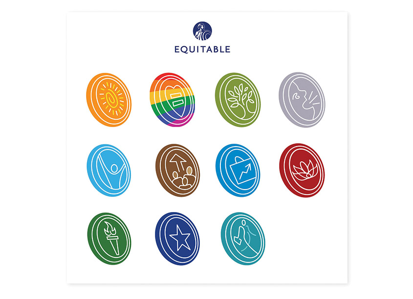 Equitable Resource Group Icons by Equitable In-House Agency