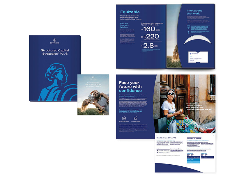 Equitable SCS Suite: Brochure and Carrier by Equitable In-House Agency
