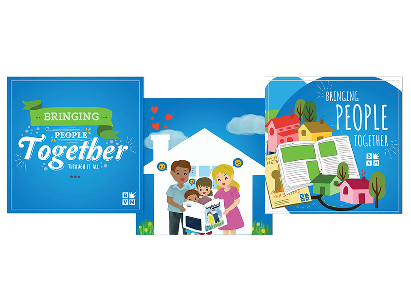 Bringing People Together Campaign by Best Version Media