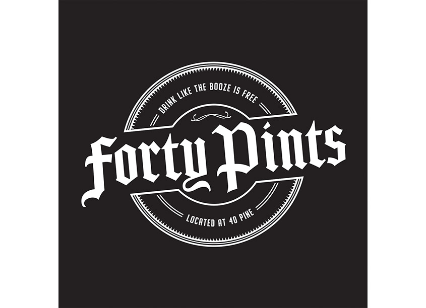 Forty Pints at 40 Pine Street by Kraus Marketing