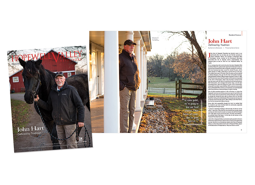 Hopewell Valley Neighbors, February 2020 Feature by Best Version Media