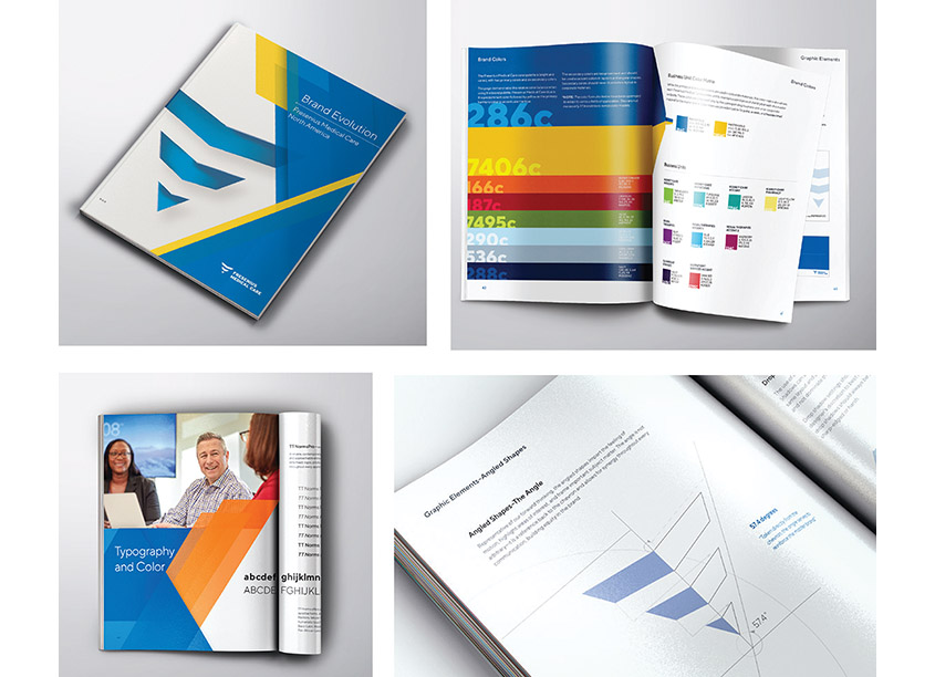 Fresenius Medical Care, Creative Studio Brand Evolution Booklet
