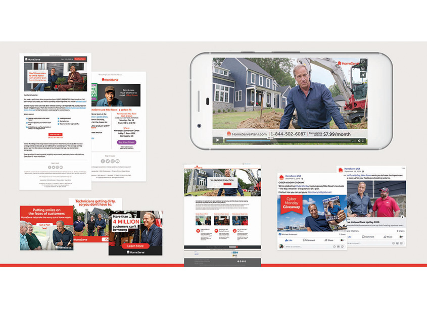 DRTV & Digital Campaign featuring Mike Rowe by HomeServe
