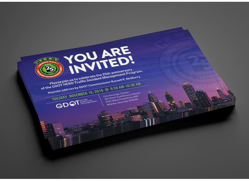 GDOT Invitation by Parsons - Core Creative