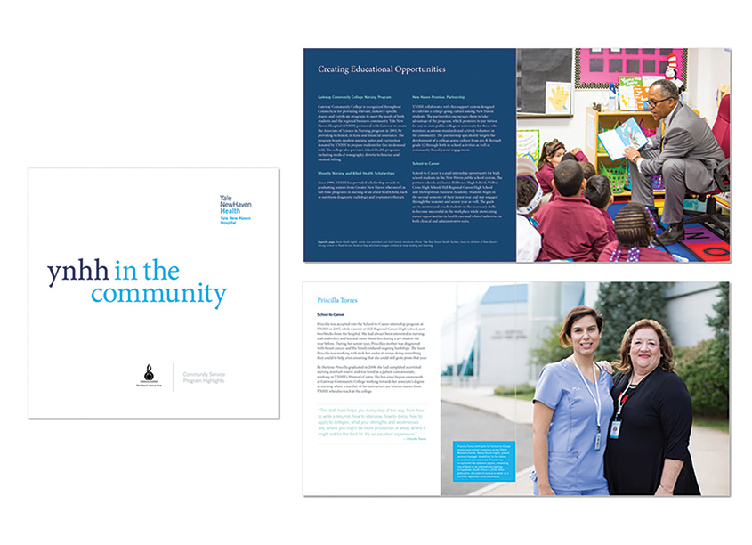 YNHH in the Community Brochure by Yale New Haven Health Creative Team