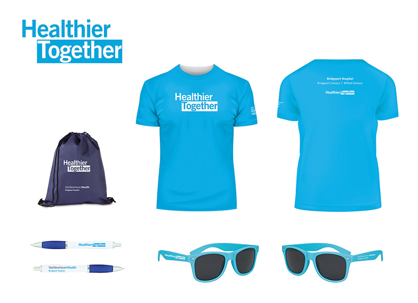 Healthier Together Wordmark by Yale New Haven Health Creative Team
