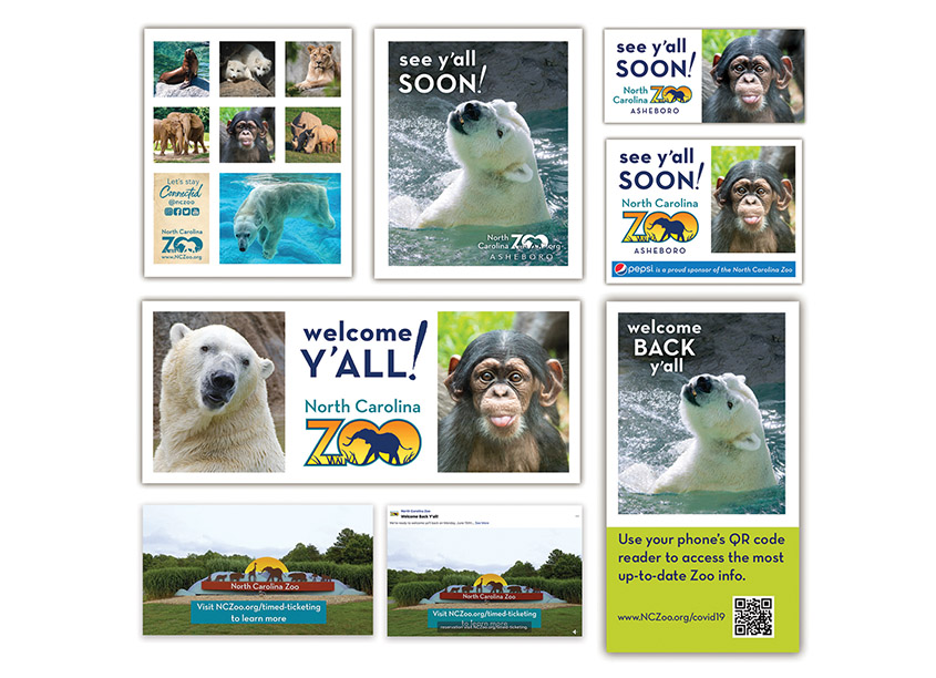 See Y'all Soon Campaign by North Carolina Zoo