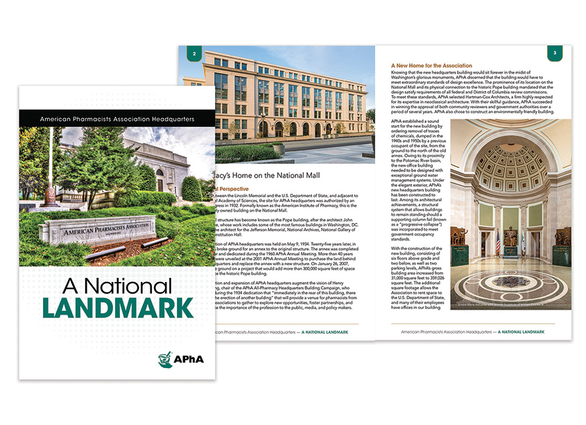 A National Landmark APhA Headquarters Tour Book by American Pharmacists Association