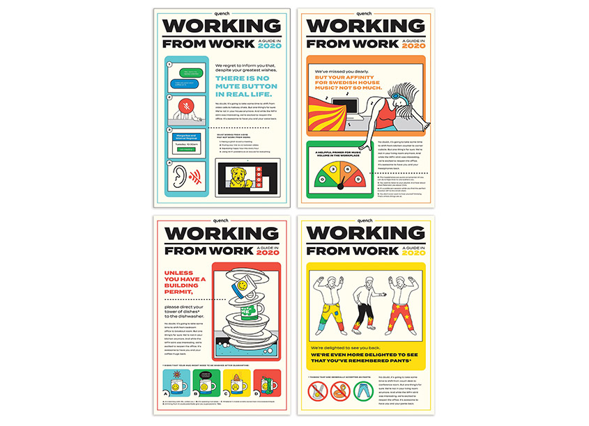 Pavone Marketing Group Working From Work - A Guide in 2020 Posters