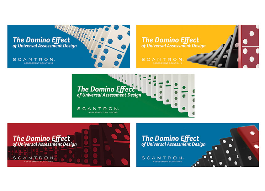 Scantron The Domino Effect Digital Banners