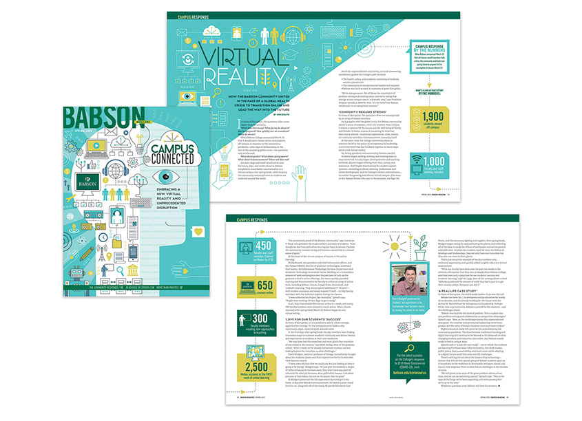 Babson Magazine, Spring 2020 by Babson College