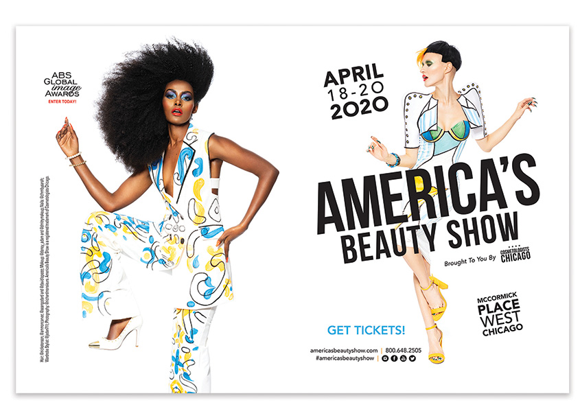 2020 America's Beauty Show Spread by Cosmetologists Chicago