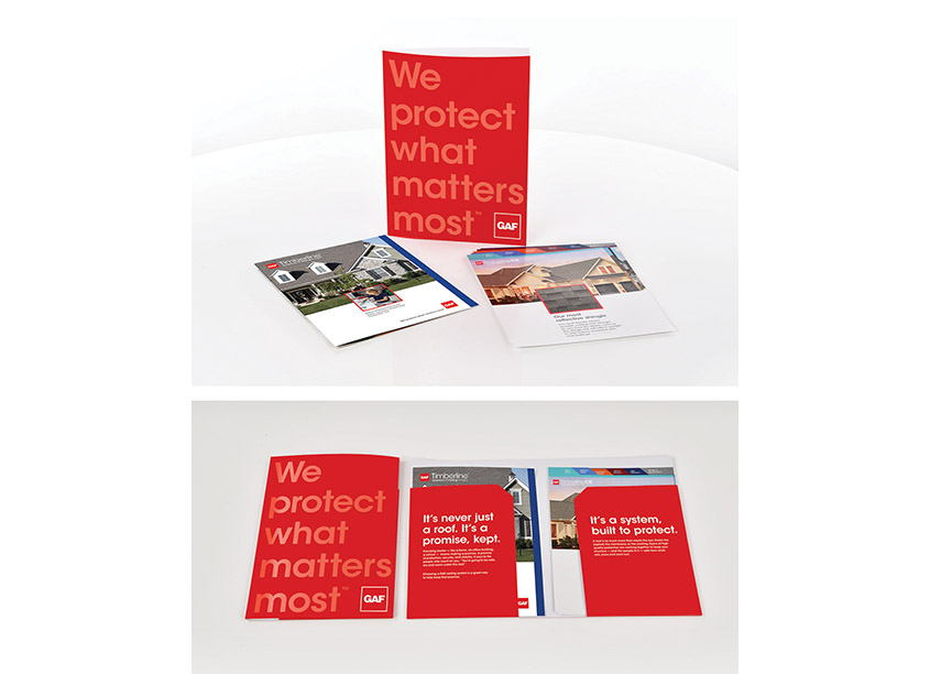 GAF Collateral Kit Systems by GAF/Creative Design Services