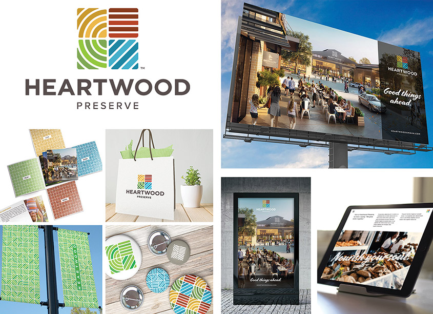Applied Underwriters, Brand Communications Department Heartwood Brand Identity