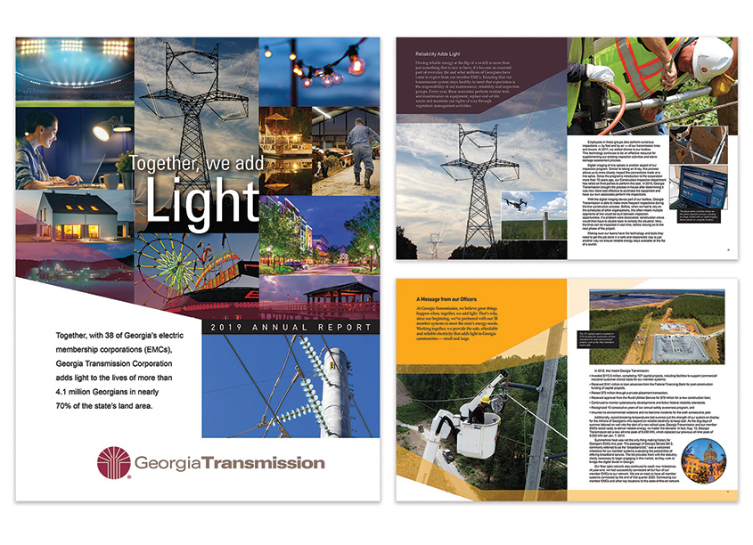 2019 Annual Report - Together We Add Light by Georgia Transmission External Affairs