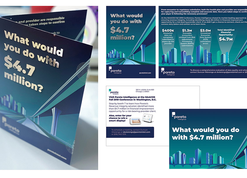 Pareto Intelligence NAACOS Conference Direct Mail Campaign