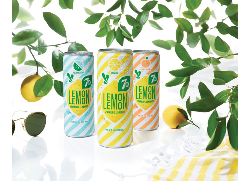 7Up Lemon Lemon by PepsiCo Design & Innovation