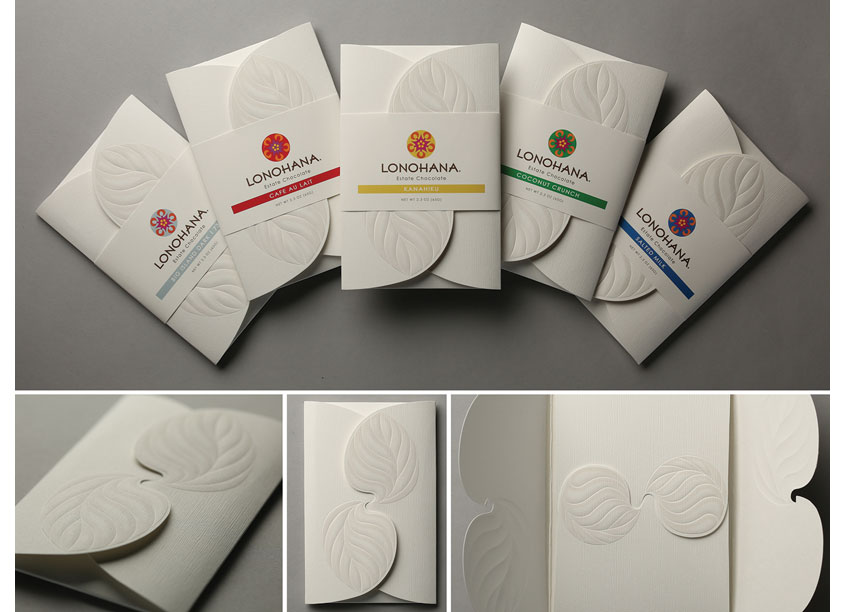 Lonohana Pillow Packaging + Belly Bands by Viola Design
