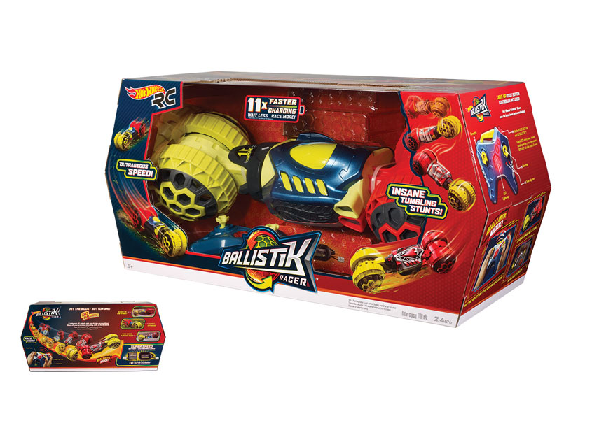 Hot Wheels® Ballistik Racer™ by Mattel, Inc.