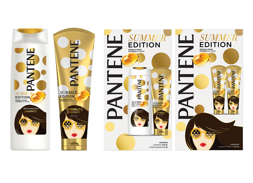 Pantene Summer Edition, Latin America by Aruliden