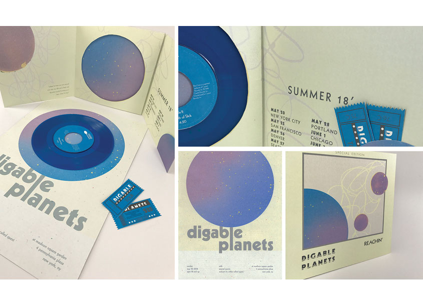 Digable Planets Album Cover by School: Auburn University College of Architecture, Design and Co