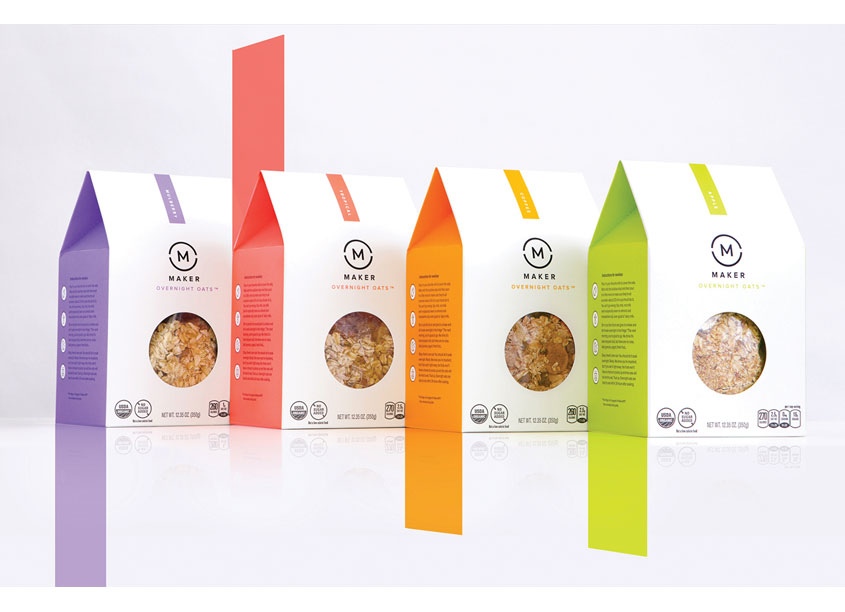 Maker Oats by PepsiCo Design & Innovation