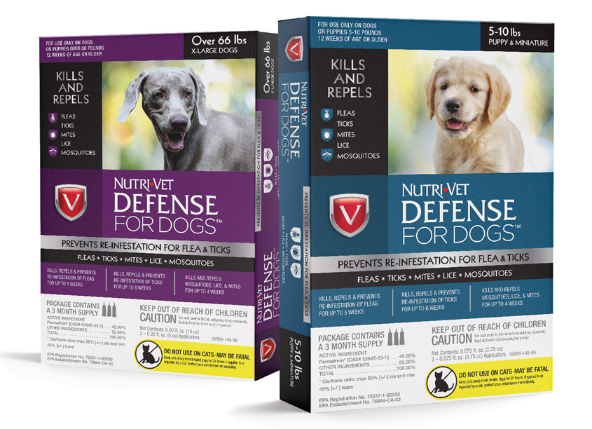 Nutri-Vet® Defense for Dogs™ by Brian Schultz Design